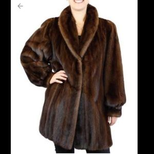 Women's Mink Coat Value on Poshmark
