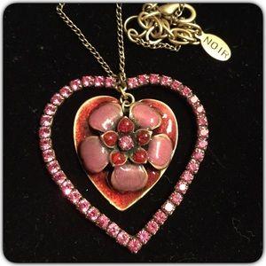 nOir Jewelry Jewelry - Boho Glam Enamel Rhinestone Necklace
