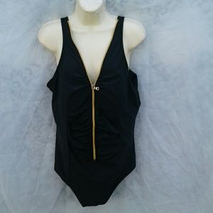 MIRACLESUIT  Other - MIRACLESUIT TUMMY CONTROL ZIP FRONT SWIMSUIT