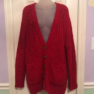 Moth knitted Anthropologie Cardigan