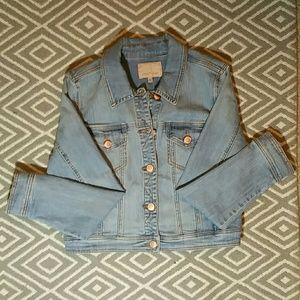 Gibson Latimer Jackets & Blazers - Gibson Latimer denim jean jacket w/ gold buttons