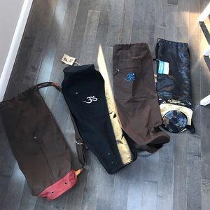 Yoga Mat Bags. Beautiful Bohemian new with tags