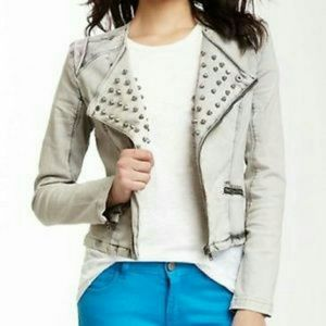 Gianni Bini Jackets & Blazers - Washed out Jean Jacket