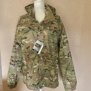 5.11 Tactical Other - NWT 5.11 Tactical Tac Dry rain shell camo jacket