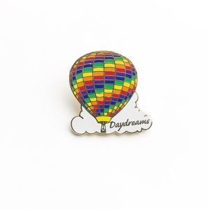 Vintage Accessories - Vintage Daydreams Hot Air Balloon Enamel Pin