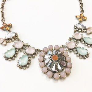 J. Crew Jewelry - J.Crew Crystal & Mirror Statement Necklace