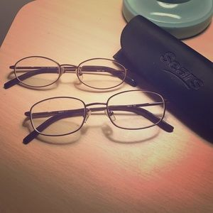 Accessories - 2 PAIRS! Basic glasses frames