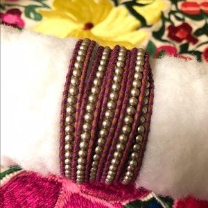 Chan Luu Jewelry - Purple Pearl Chan Luu Wrap Bracelet💜