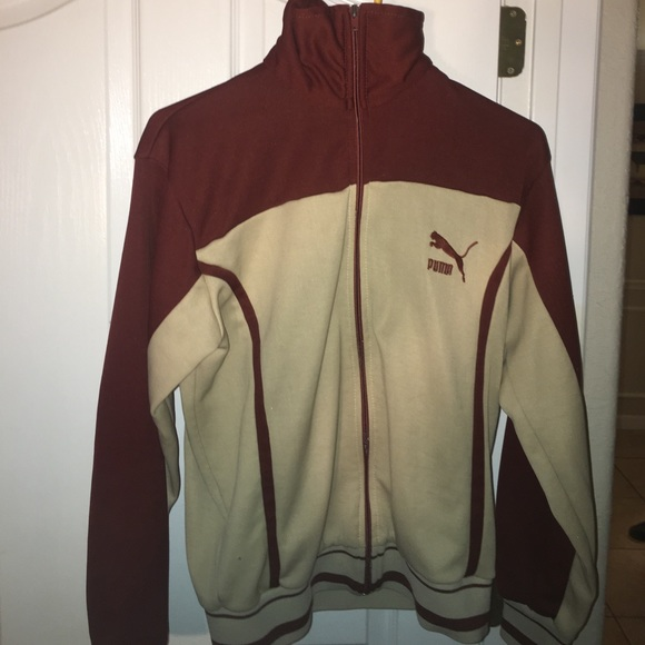 edba6a5c85cbe Rare vintage Puma Zip up Jacket