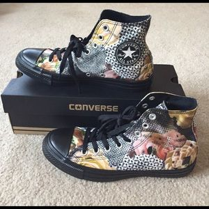 Converse Shoes - NWT Converse Floral High Top