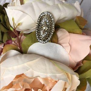 ⭐️ BOGO 50% off -Art Deco gold ring