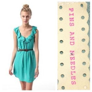 Urban Outfitters Dresses & Skirts - Pins & needles ruffle dress