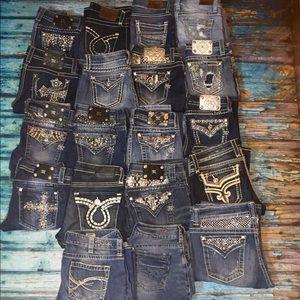 Miss Me Denim - 📦❤️ Miss Me Rock Revival BKE Silver Jeans 👍🏼