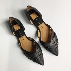 Dolce Vita Parklands Leather Pointed Toe Flats