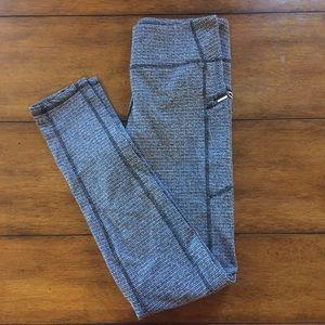 Kyodan Pants - Kyodan grey herringbone leggings. Size Medium.