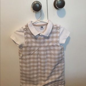Janie and Jack Other - Janie and Jack unisex overall and polo shirt.