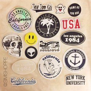 Brandy Melville Other - 15 Brandy Melville Stickers Bundle