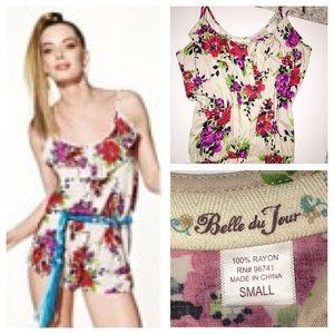 Belle Du Jour Pants - 🌷MAY SALE🌷Floral ruffle romper