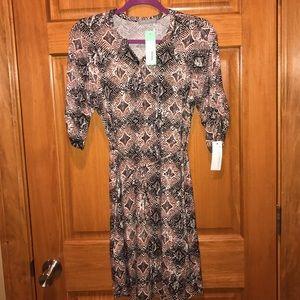 Loveappella Dresses & Skirts - Loveappella Medium Analee Knit Shirt Dress