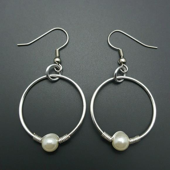 Sterling silver gold earrings discount - sterling silver wire earrings