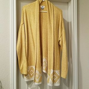 Ladies cowl neck sweater