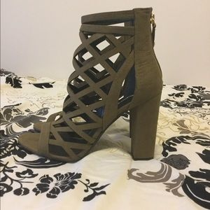 ffcae23f5cdf Guess Shoes - Guess Eriel Caged Bootie