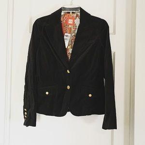 Old Navy Jackets & Blazers - Black Velvet Blazer