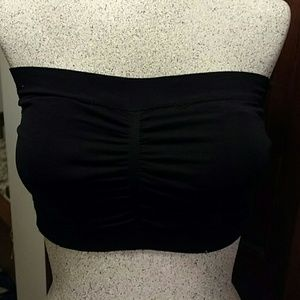 Poof! Other - Bandeau black with dide detail eyelets