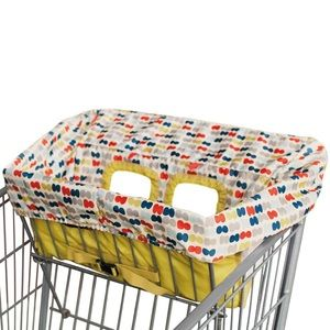 Skip Hop Other - Used Skip Hop Shopping Cart and High Chair Cover