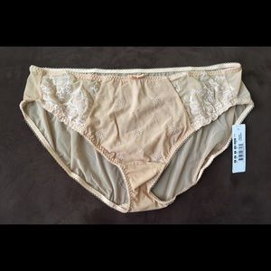 Elomi Other - Elomi Tamarie embroidered brief panties beige