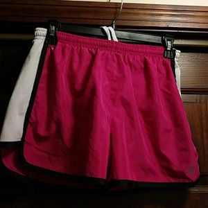 Colosseum Pants - Running short?s pink black detail mesh white sides