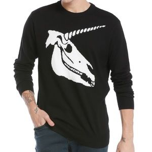 Other - NWT Unicorn Skull Sweater