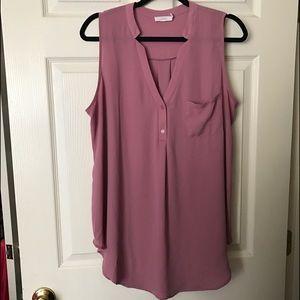Lush Tops - Lush sleeveless blouse