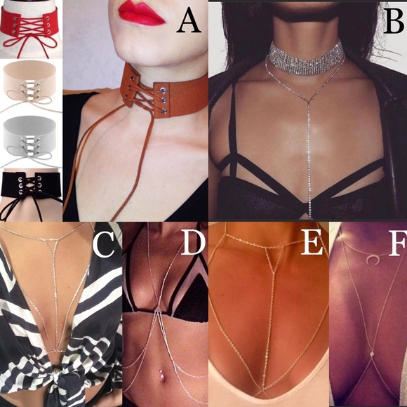 3d06edb6a8 BUNDLE ANY 2 Chokers