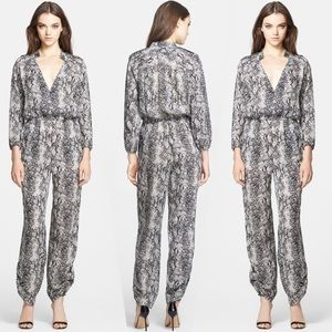 🌈 SOLD 🌈 TAMARA MELLON safari SILKblend jumpsuit
