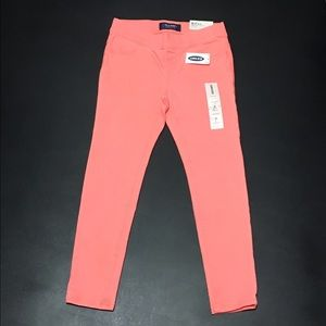 Old Navy Other - 💖Girls Small 6-7 Regular Coral Jeggings