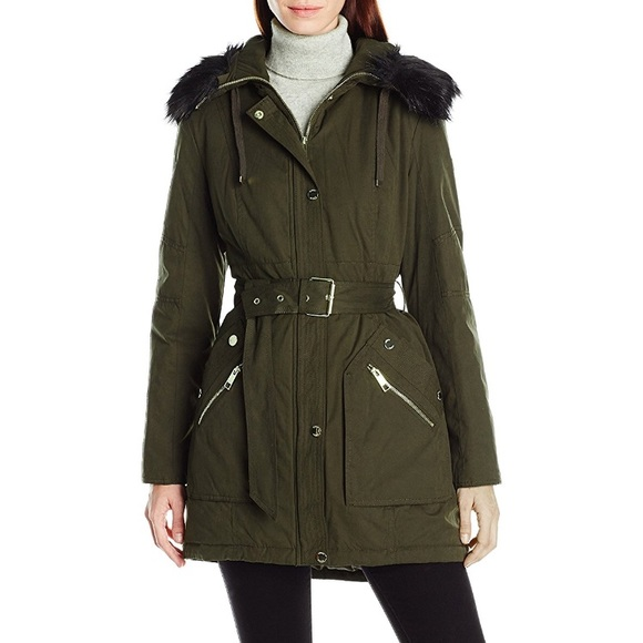 35% off Guess Jackets & Blazers - GUESS Olive Green Anorak Parka ...