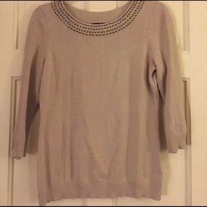 Banana Republic Lightweight 3/4 Sleeve Sweater