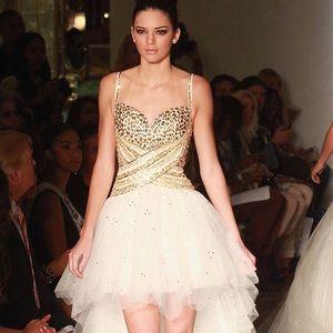 Kendal Jenner/ Sherri hill prom dress