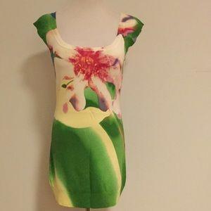 Floral King Mini Dress