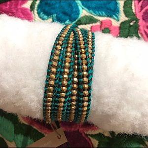 Chan Luu Jewelry - Turquoise leather Chan Luu wrap bracelet