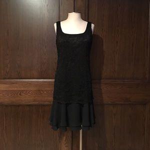 Patra Dresses & Skirts - Beaded flounce Skirt Dress by Patra