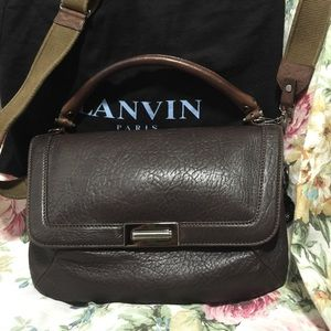 Lanvin Handbags - Authentic Brown Lanvin Satchel