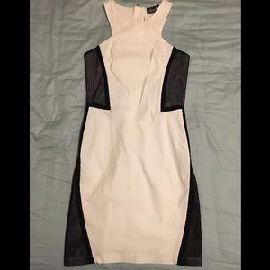 Maude Dresses & Skirts - Maude Geometric Black and White Dress