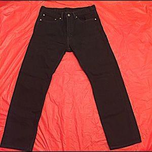 Levi's Other - Mens Levi 505 Regular Fit Straight Leg Jeans