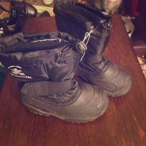 Kamik Other - Little Boys Winter Boots, black, size 8, EUC