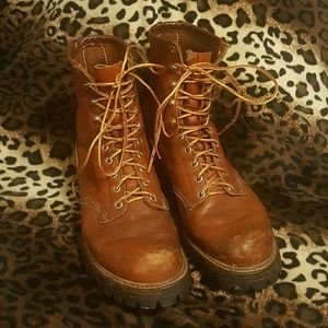 Red Wing Shoes Other - BEAT UP Red Wing Irish Setter Boots sz 10