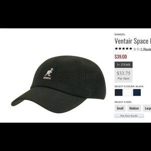 Kangol Other - KANGOL VENTAIR BASEBALL CAP