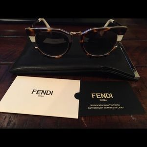 Fendi Accessories - Fendi Tortoiseshell Sunglasses