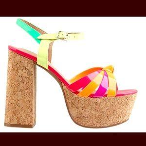 Jeffrey Campbell Shoes - 💚💕Jeffrey Campbell HAPPY Platforms 💕💚
